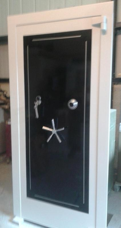 National Safes Gun Room Door